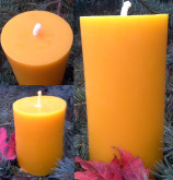 Smooth Pillar Candles Large and Small